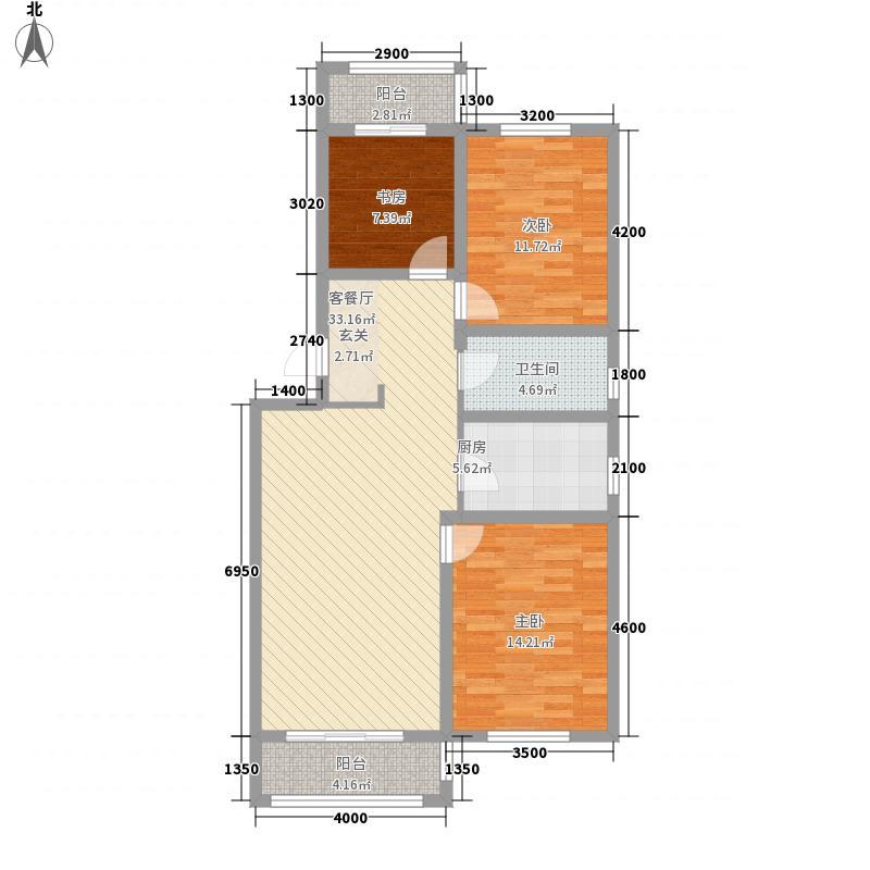 南山秀水108.74㎡南山秀水多层20#三室二厅一卫108.74平户型10室