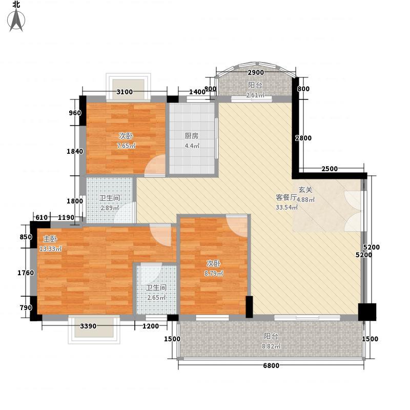 月秀花园110.00㎡月秀花园户型图3室户型图3室2厅1卫1厨户型3室2厅1卫1厨