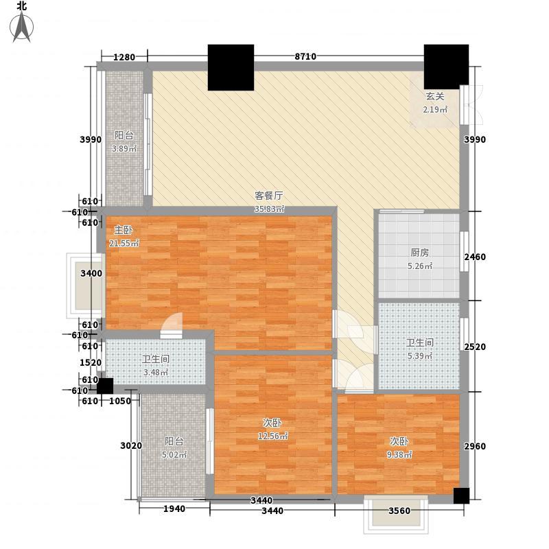 太阳岛公寓太阳岛公寓户型图D1-D2户型图3室2厅2卫户型3室2厅2卫