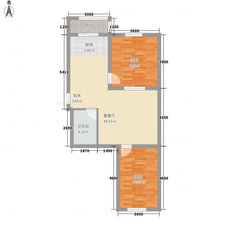 南山秀水79.01㎡南山秀水多层20#二室二厅一卫79.01平户型10室