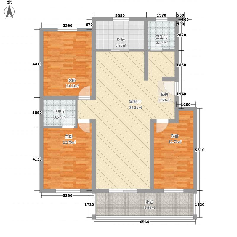 棕榈泉338.00㎡户型4室