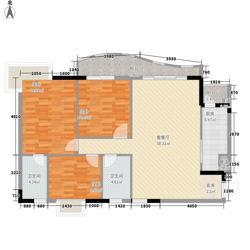 金狮华庭123.65㎡金狮华庭户型图3室2厅户型图3室2厅2卫1厨户型3室2厅2卫1厨