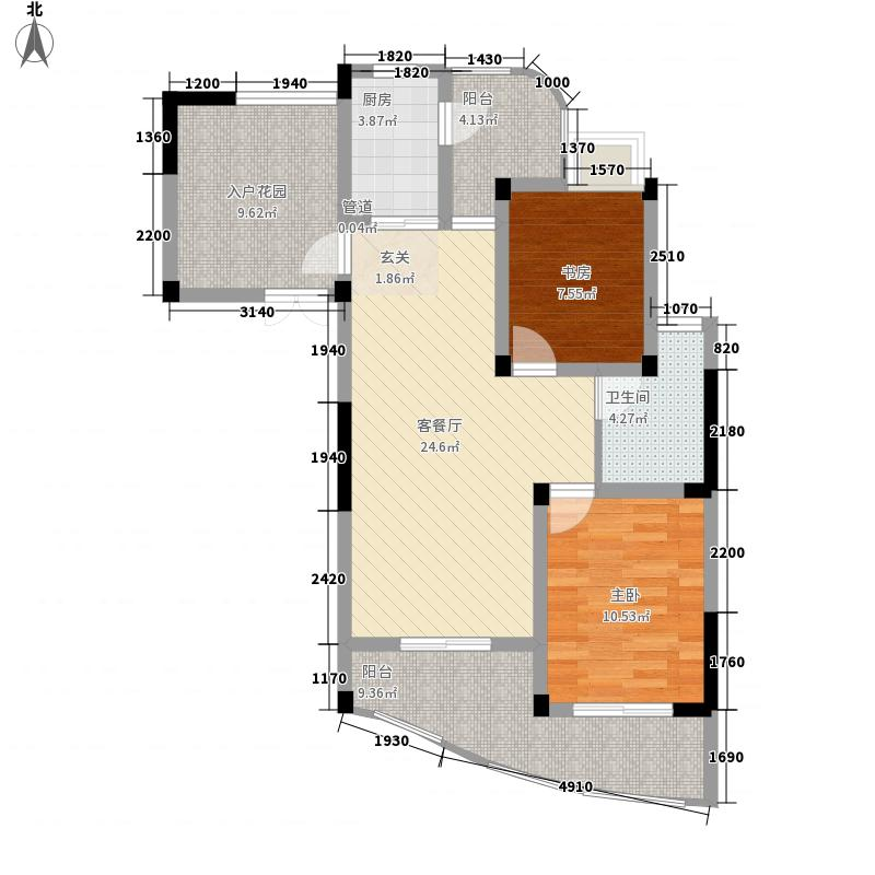 金色城品108.91㎡金色城品户型图1号、2号、11号、12号楼E1户型3室2厅1卫1厨户型3室2厅1卫1厨