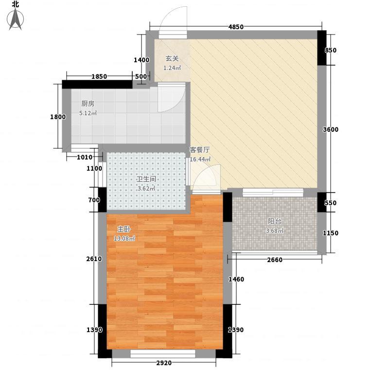 海棠别院户型1室