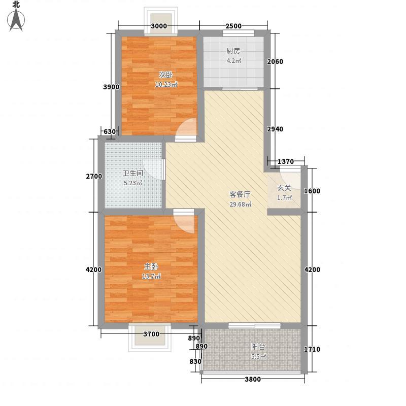 铁路二村68.00㎡铁路二村2室户型2室