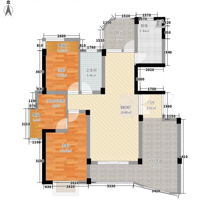 金色城品128.56㎡金色城品户型图5号、6号、9号、10号、13号楼A户型3室2厅2卫1厨户型3室2厅2卫1厨