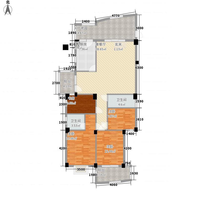 罗马佳洲户型图4室2厅2卫