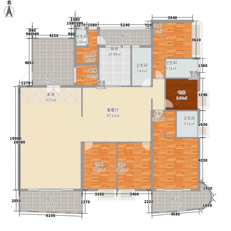 碧海嘉园116.00㎡碧海家园户型3室2厅2卫1厨