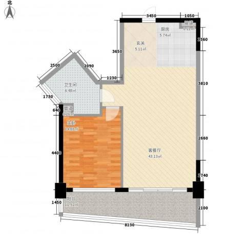 博鳌海御1室1厅1卫0厨112.00㎡户型图