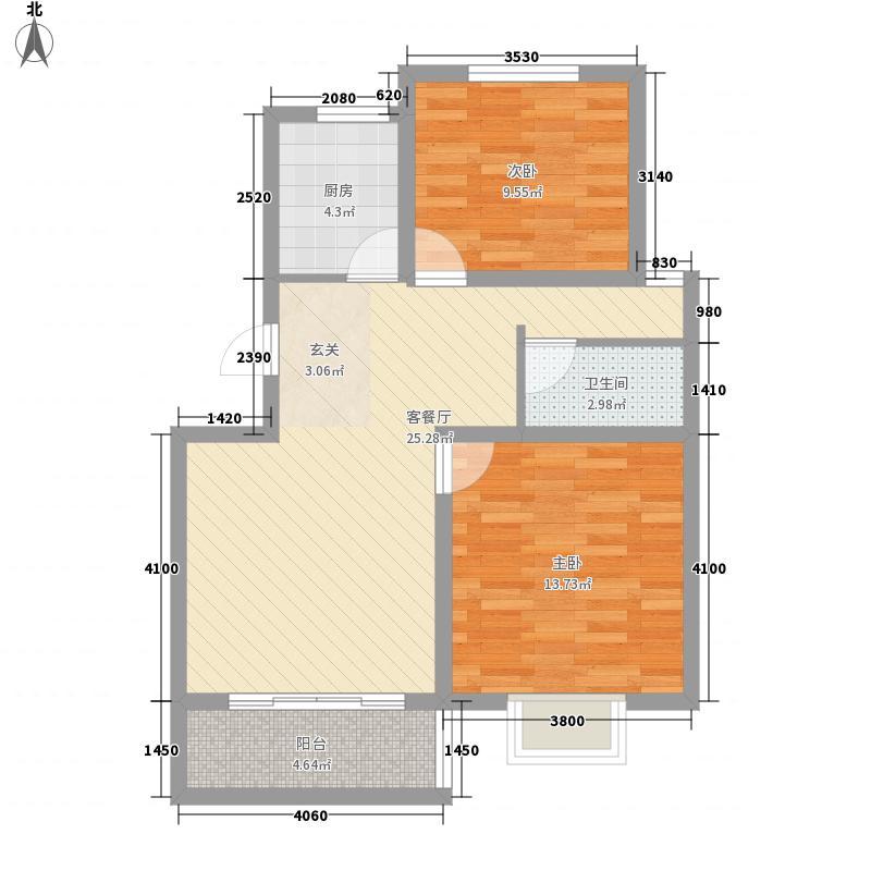 永富御景城永富御景城户型图两室两厅一卫户型10室