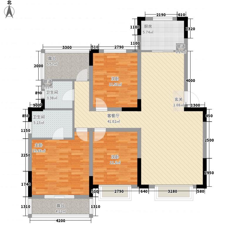 龙江雅苑B-4户型10室