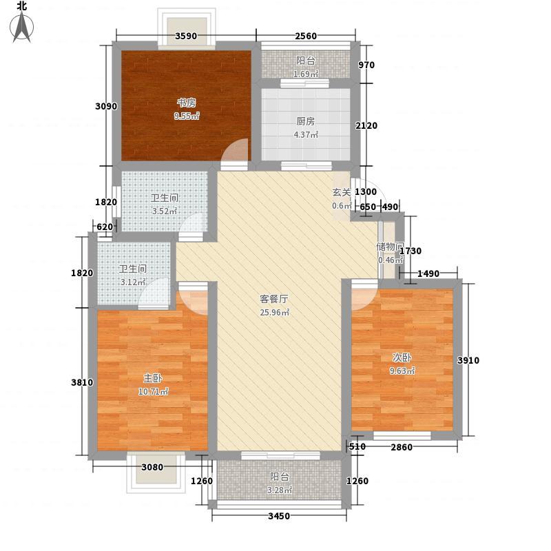 群力新村106.00㎡群力新村5室户型5室