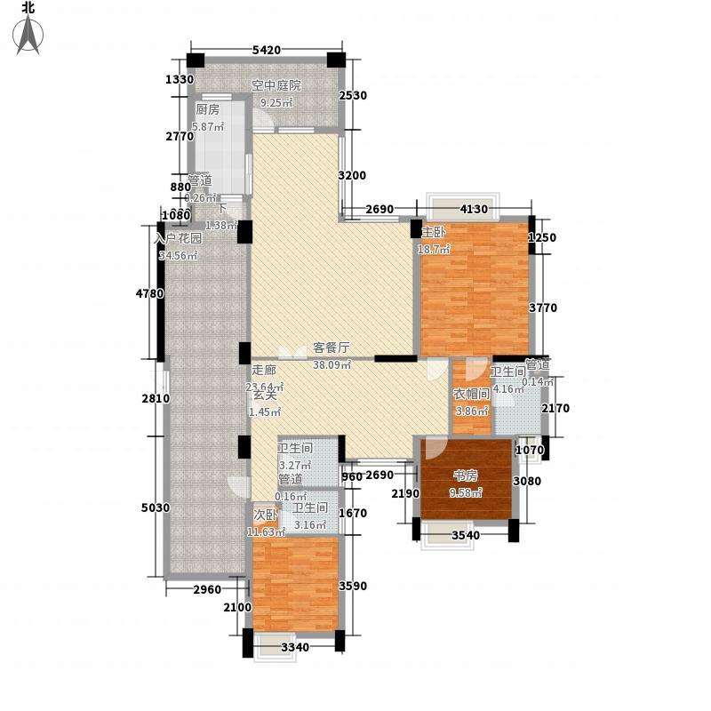海畔嘉苑184.00㎡海畔嘉苑户型图1-6栋3-15层B户型10室