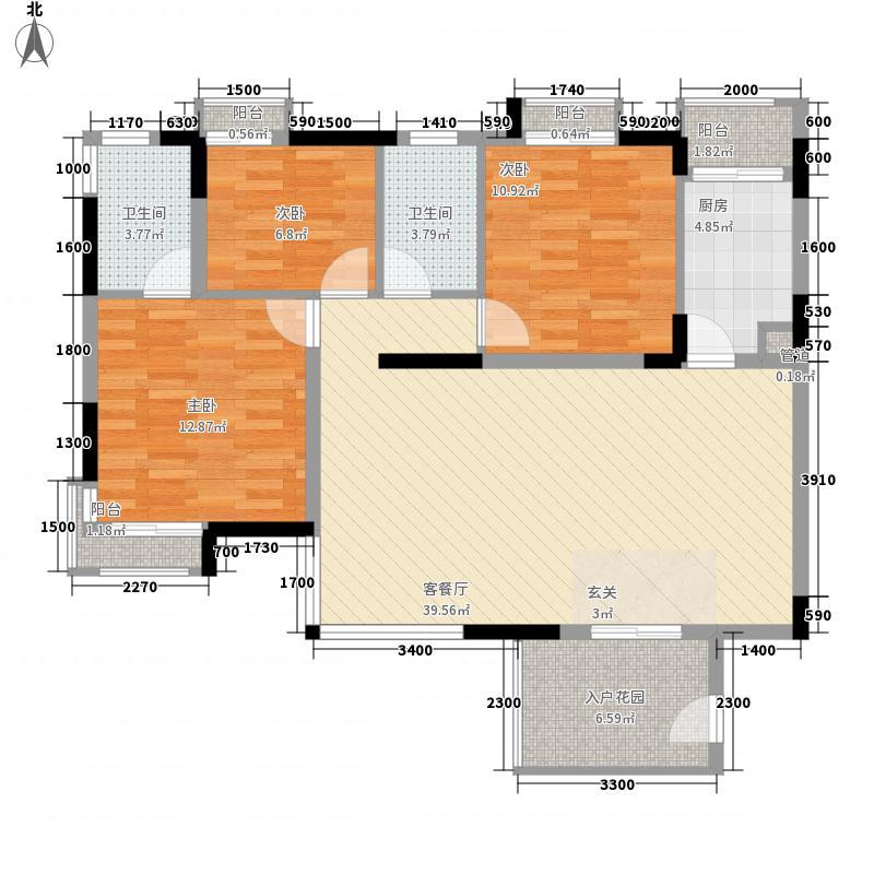 日出印象日出印象A区户型图深圳日出印象户型图143室2厅2卫1厨户型3室2厅2卫1厨
