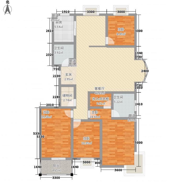 博雅书院180.29㎡博雅书院户型图A户型4室2厅1厨2卫180.294室2厅2卫1厨户型4室2厅2卫1厨