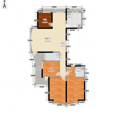 绿洲家园4室1厅2卫1厨204.00㎡户型图