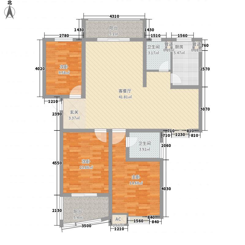 东湖阳光150.04㎡东湖阳光C户型3室2厅2卫1厨150.04㎡户型3室2厅2卫1厨
