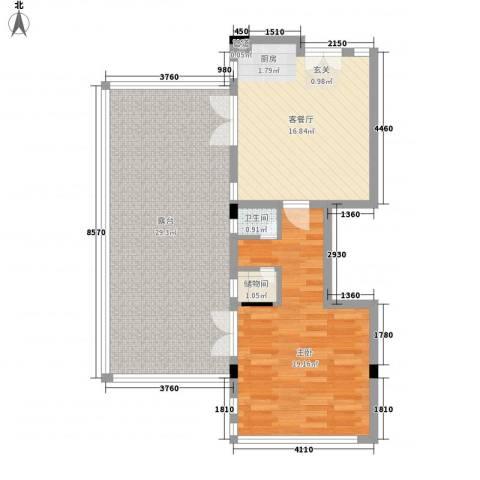 御泉庄1室1厅1卫0厨94.00㎡户型图