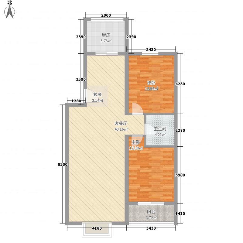 天建天和园116.00㎡天建天和园户型图秋园10号楼复式一层户型10室