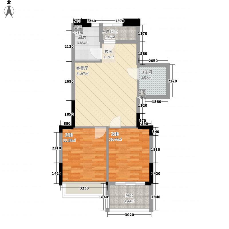 泰禾・红峪B1区82.00㎡泰禾红峪户型10室