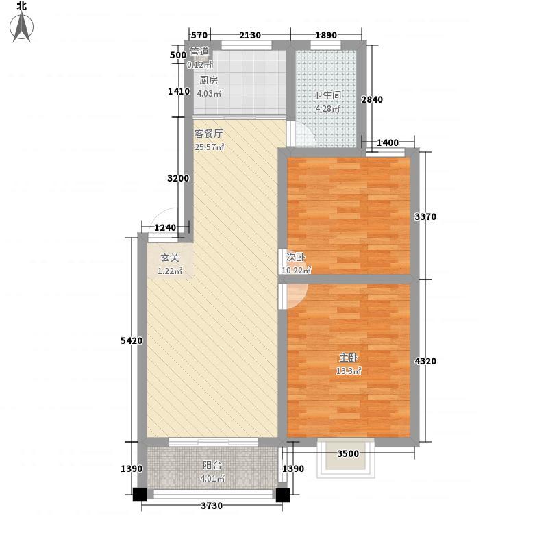 树人花园1#楼西边、中间3#、10#、11#楼中间B户型