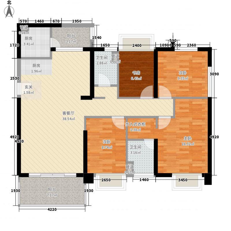 中信星光名庭深圳中信星光名庭户型图11户型10室