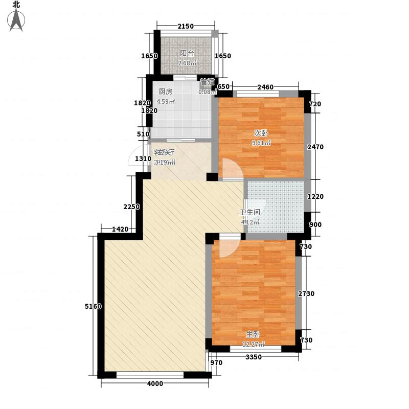 亚美利加91.36㎡亚美利加户型图阳光加州2室2厅1卫户型2室2厅1卫