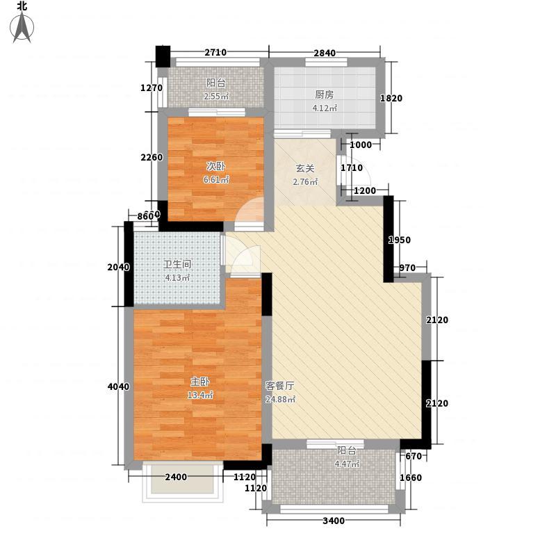怡和花园97.00㎡怡和花园2室户型2室
