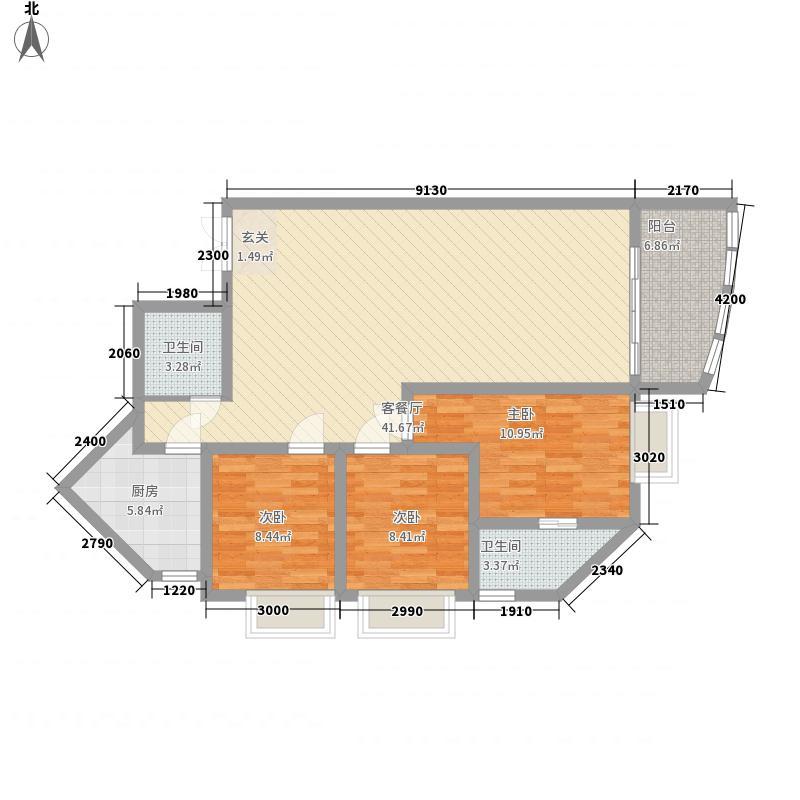 城市方舟城市方舟户型图3室2厅2卫1厨户型10室