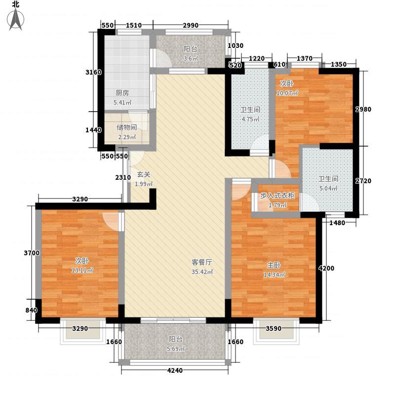 倚能黄河家园145.34㎡倚能黄河家园145.34㎡3室2厅2卫1厨户型3室2厅2卫1厨