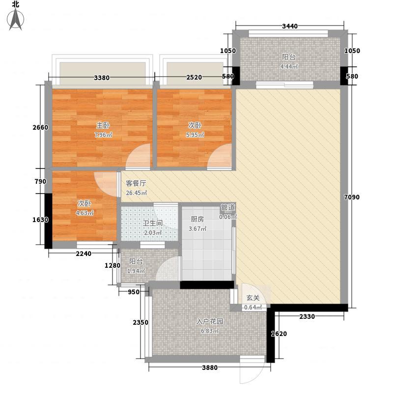 szcsyx120.00㎡szcsyx3室户型3室
