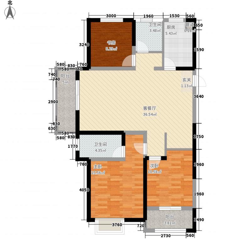 红豆人民路九号134.00㎡红豆人民路九号户型图5#134平A户型3室2厅2卫户型3室2厅2卫