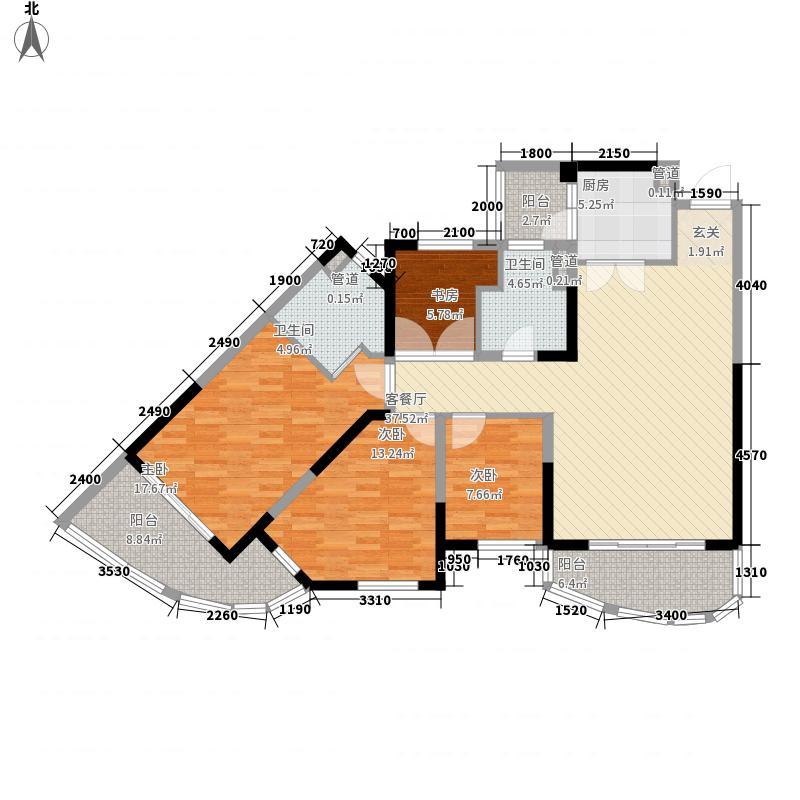 碧桂园十里银滩119.74㎡碧桂园十里银滩户型图2号楼标准层E户型3室2厅2卫1厨户型3室2厅2卫1厨