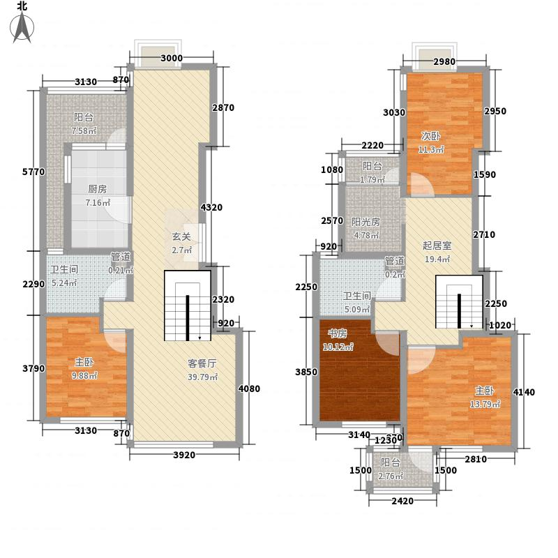 康桥半岛康桥半岛户型图户型图4室3厅2卫1厨户型4室3厅2卫1厨