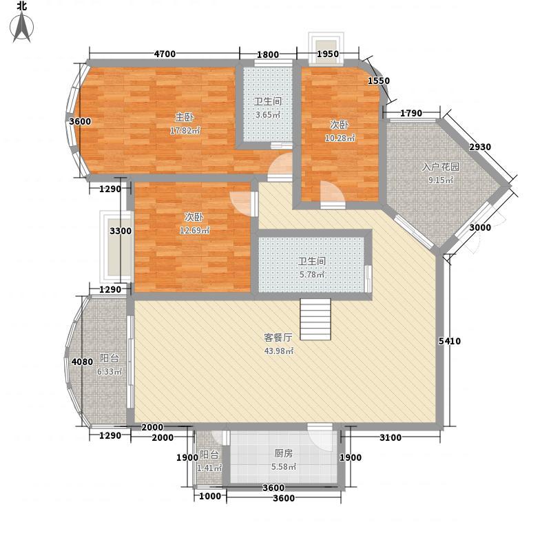 城市方舟145.01㎡城市方舟户型图2室2厅2卫1厨户型10室