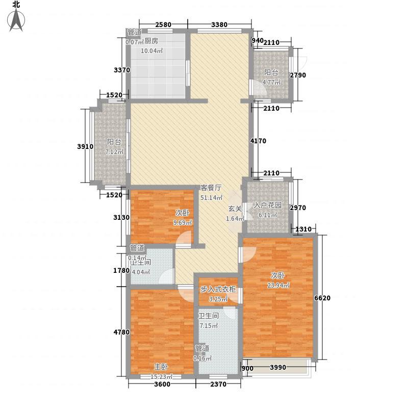 金域蓝湾204.00㎡金域蓝湾户型图天玺户型3室2厅2卫户型3室2厅2卫
