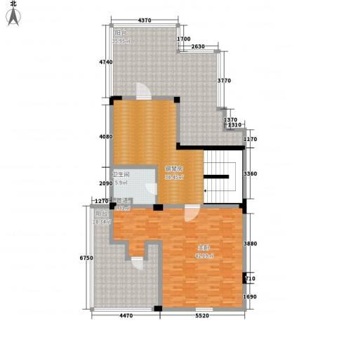 信达郡庭1室0厅1卫0厨194.00㎡户型图