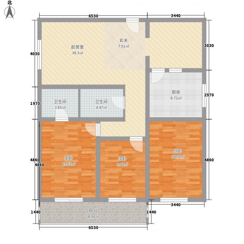 漪鑫雅园135.25㎡漪鑫雅园户型图3室2厅2卫户型10室