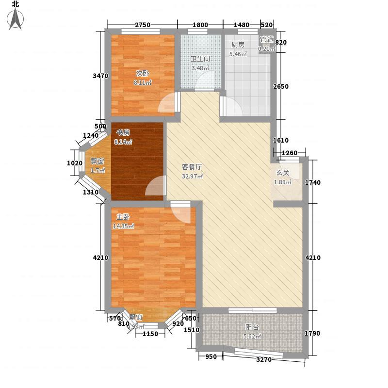 航道局大院6-3户型2室1厅1卫1厨