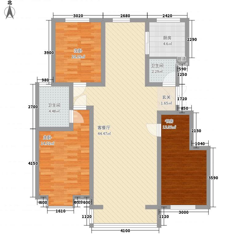 开元小区 2室 户型图