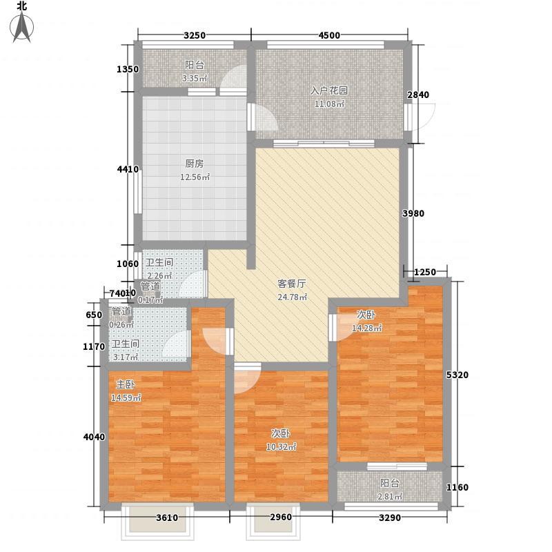 一代天骄118.35㎡一代天骄户型图B-a型3室2厅2卫1厨户型3室2厅2卫1厨