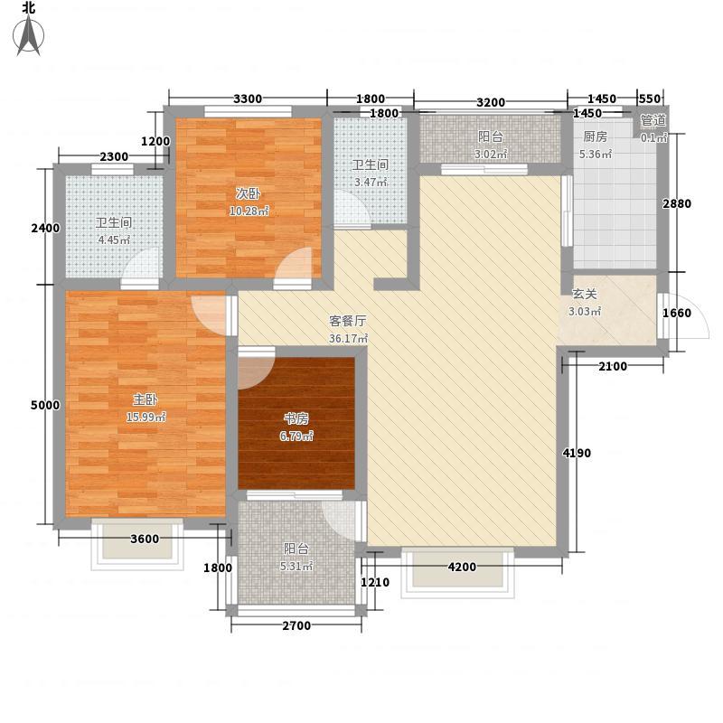 天一广场130.00㎡3室2厅2卫130㎡户型3室2厅2卫