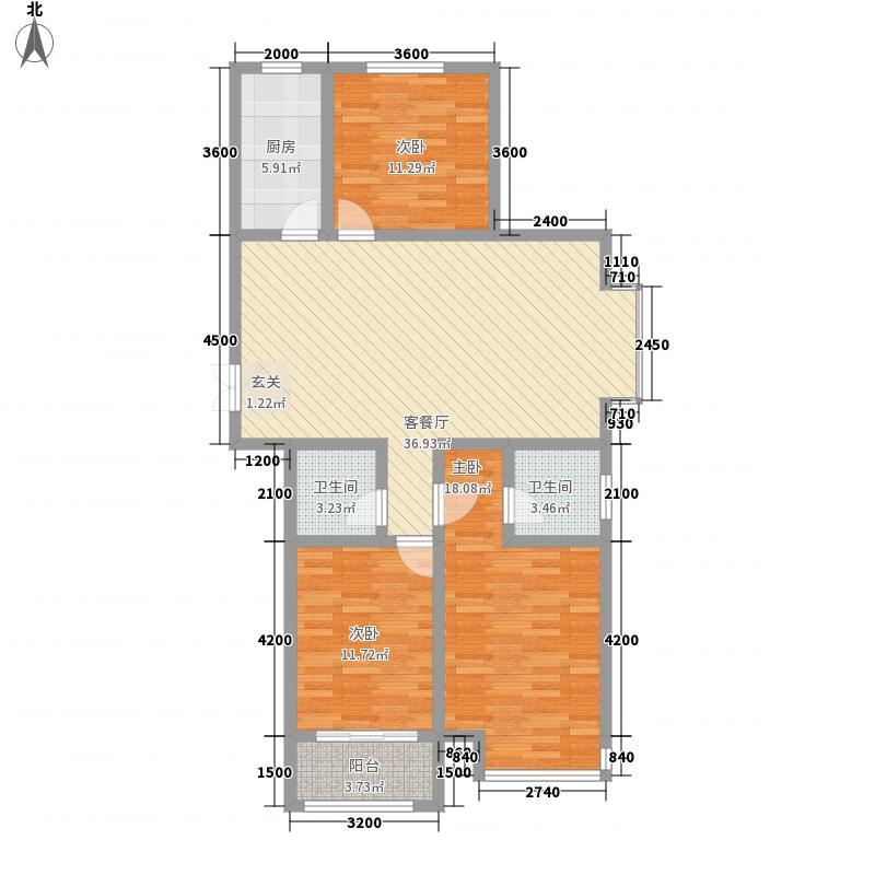 天一广场135.00㎡3室2厅2卫135㎡户型3室2厅2卫