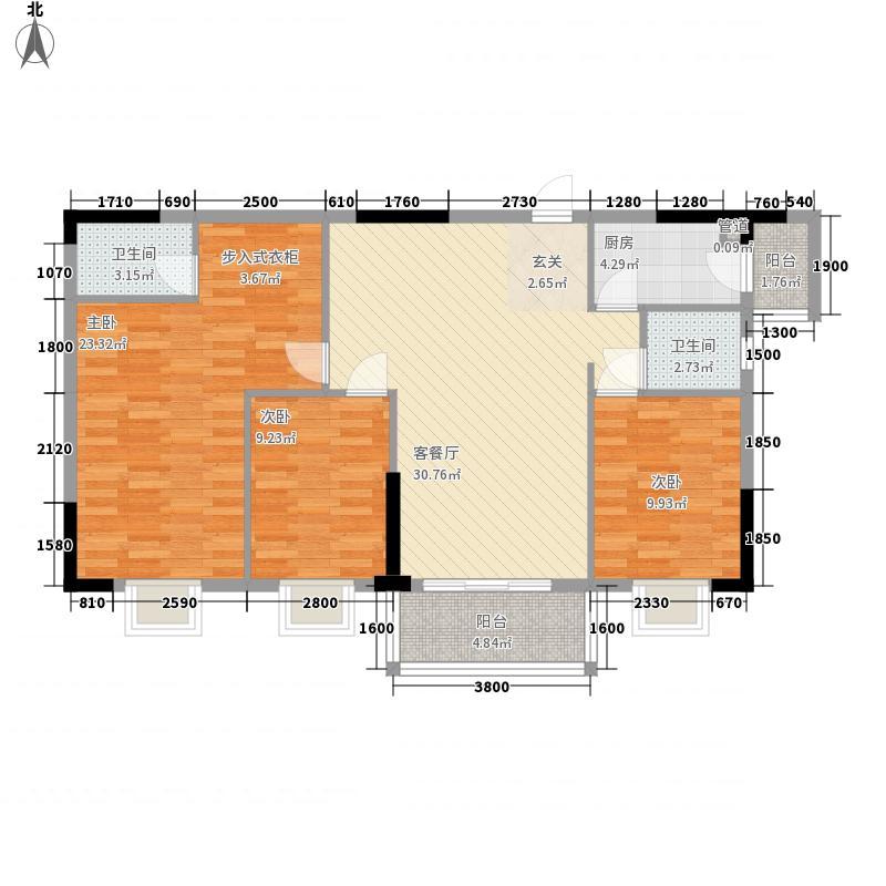 嘉骏豪苑三期124.56㎡嘉骏豪苑二期户型图12栋03户型3室2厅2卫1厨户型3室2厅2卫1厨