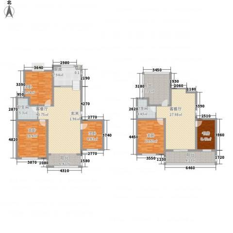 远东世纪园5室2厅2卫1厨239.00㎡户型图