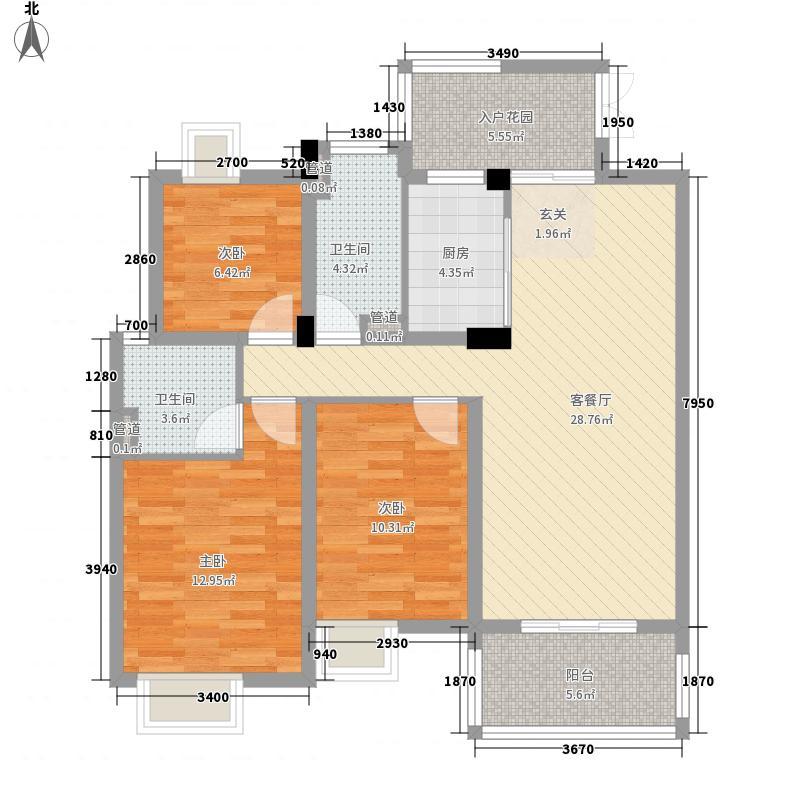 中级法院宿舍户型2室