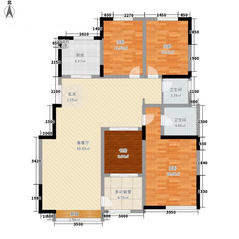 广和二区41户型3室2厅2卫1厨
