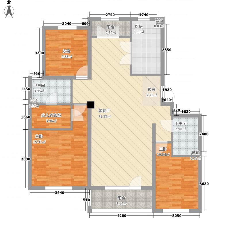 东城绿庭138.37㎡东城绿庭户型图雅园7#8#楼L户型3室2厅2卫1厨户型3室2厅2卫1厨