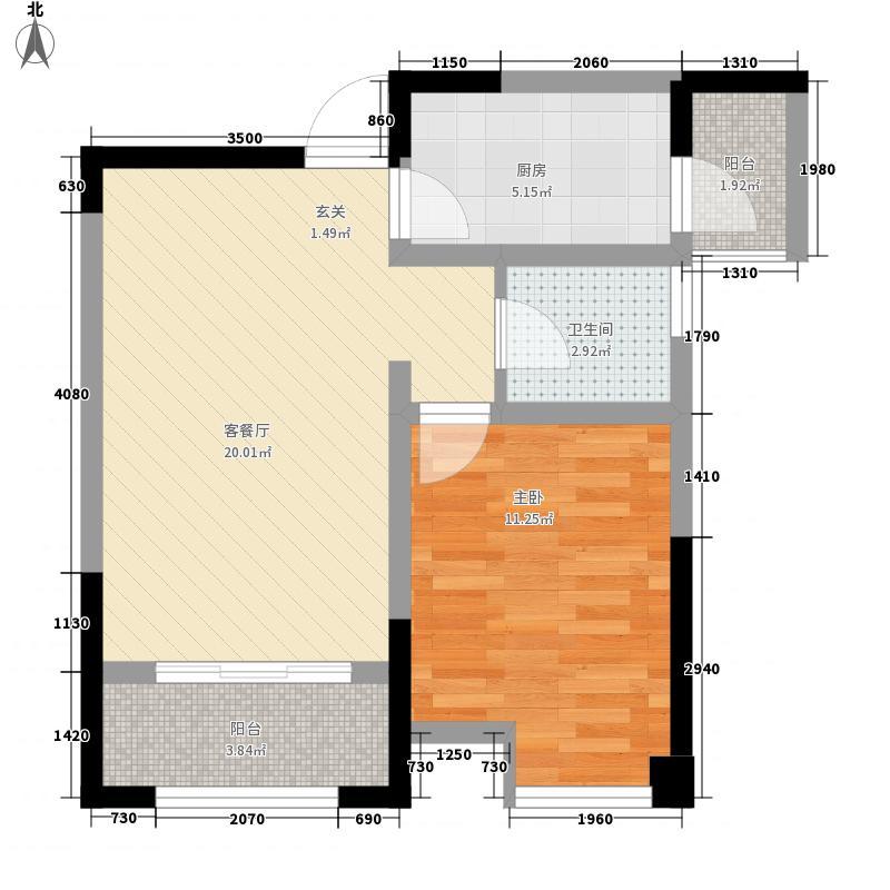 铂金时代60.70㎡铂金时代户型图一批次特惠房A21室2厅1卫1厨户型1室2厅1卫1厨