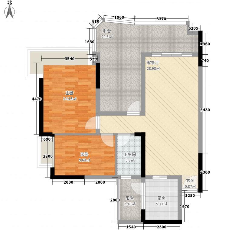 金域湾140.00㎡金域湾4室户型4室